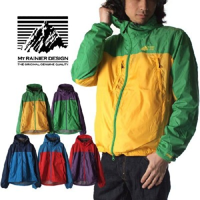 Mt RAINIER DESIGN マウントレイニアデザイン レイニア WIND SHED 2トーンパーカー2 700008518 5色展開 マウントレーニア WINDSHED ナイロン メンズ