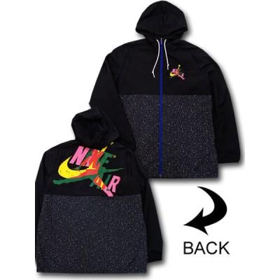 メンズ ジョーダン ナイロン ジャケット Jordan Jumpman Classics Windwear Jacket ウィンドブレーカー 黒 HJ024