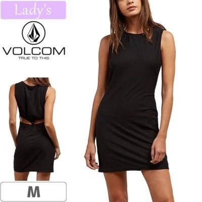 VOLCOM WOMENS ボルコム レディース ワンピース KNOT YOURS DRESS ブラック NO7