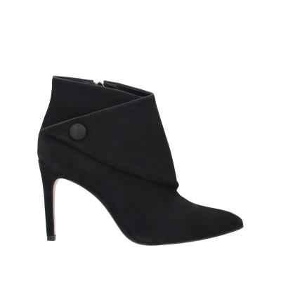 VICENZA) ショートブーツ ブラック 36 牛革(カーフ) ショートブーツ