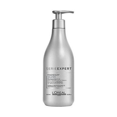 ロレアル Professionnel Serie Expert - Silver Magnesium Neutralising Shampoo (For Grey and White Hair) 500ml/16.9oz並行輸入品