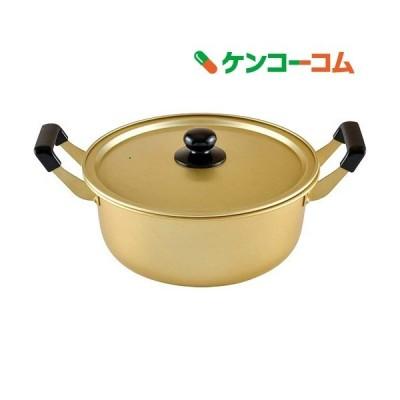アルミ 両手鍋 26cm ガス火専用 豊味庵 RA-9702 ( 1コ入 )