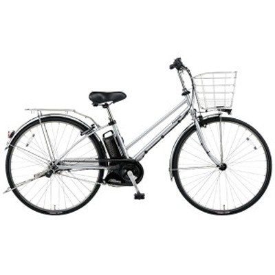 PANASONIC BE-ELDT756-S2 モダンシルバー ティモ・DX [電動アシスト自転車(27インチ・内装5段)]