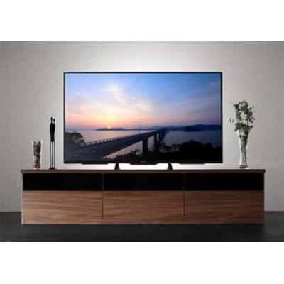 キャビネットが選べるテレビボードシリーズ 〔add9〕アドナイン テレビボード単品(W180) ウォルナットブラウン