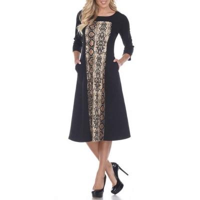 ホワイトマーク レディース ワンピース トップス Women's Constance Midi Dress