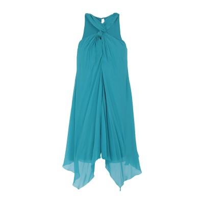 パトリツィア ペペ PATRIZIA PEPE ミニワンピース&ドレス ターコイズブルー 44 レーヨン 100% ミニワンピース&ドレス