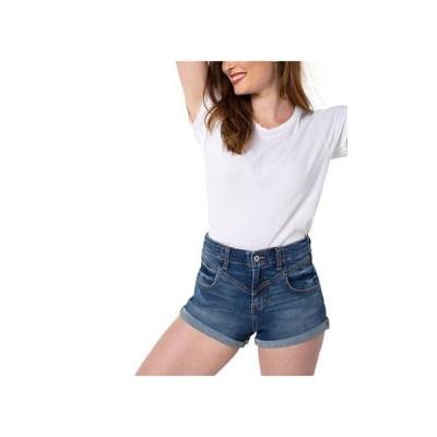 ケンデールアンドカイル レディース ハーフパンツ・ショーツ ボトムス Juniors' Ultra-High-Rise Jean Shorts