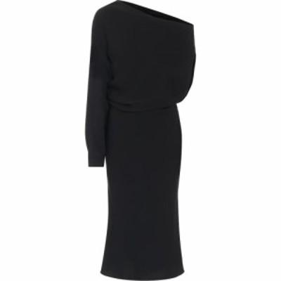 メゾン マルジェラ MM6 Maison Margiela レディース ワンピース ワンショルダー ワンピース・ドレス one-shoulder crepe dress Black