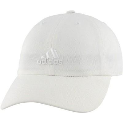 アディダス 帽子 アクセサリー レディース adidas Women's Saturday Hat White/White