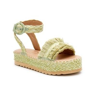 マチス レディース サンダル シューズ Beach By Women's Seashore Platform Sandal Lime