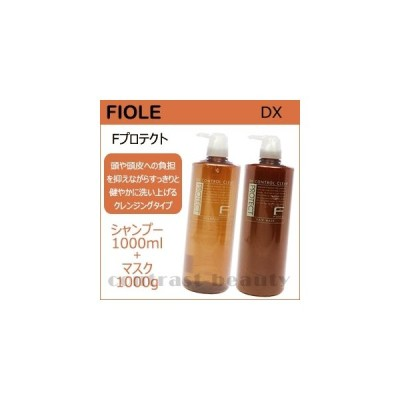 フィヨーレ Fプロテクト ヘアシャンプー 1000ml & ヘアマスク1000g DXシリーズ フィオーレ 美容室 サロン専売品