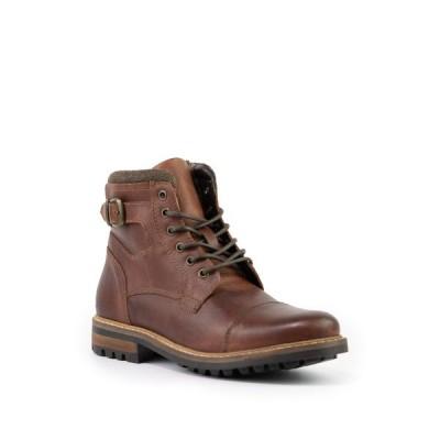 クレボ メンズ ブーツ&レインブーツ シューズ Wickham Lace-Up Boot BROWN