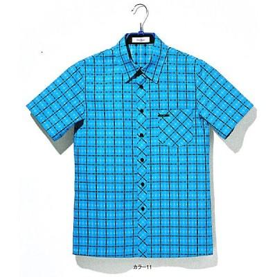 D8991-11-12-18 半袖シャツ(ユニセックス) 全3色 (シャツ ベスト エプロン サービス アミューズメント multi-form ヤギコーポレーション)
