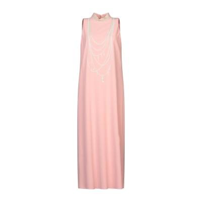 BOUTIQUE MOSCHINO 7分丈ワンピース・ドレス ピンク 44 ポリエステル 92% / ポリウレタン 8% 7分丈ワンピース・ドレス