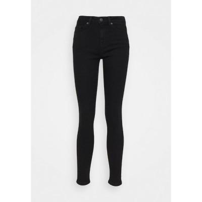 セレクテッドフェム デニムパンツ レディース ボトムス Jeans Skinny Fit - black denim