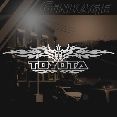 TOYOTA トヨタ トライバル 十字架 ステッカー