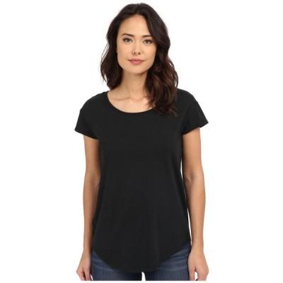 オルタナティヴ Alternative レディース Tシャツ トップス Cotton Modal Origin Tee Black