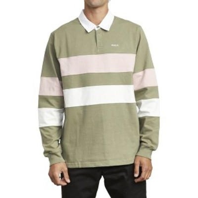 ルーカ メンズ シャツ トップス Johnsy Ls Polo Shirt - Men's Aloe