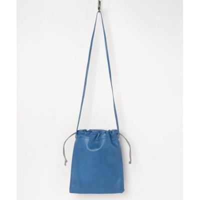 PR01. / TASINAMI 牛革巾着ショルダー (TA-0061) WOMEN バッグ > ショルダーバッグ