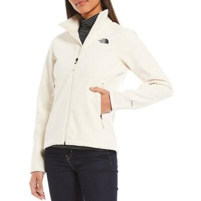 ノースフェイス レディース ジャケット&ブルゾン アウター Apex Risor Windproof Funnel Neck Zip Up Jacket Vintage White