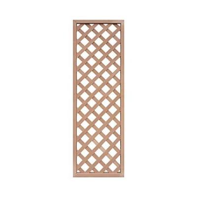 igarden アイガーデン アイウッド樹脂人工木製ラティス H175×W60cm 格子タイプ ナチュラルi10011