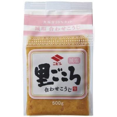 【 ニビシ醤油 】 里ごころ 減塩 合わせ 500g ×2個