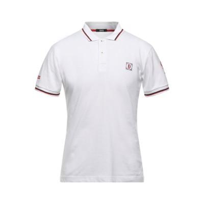 DOOA ポロシャツ ホワイト S コットン 100% ポロシャツ