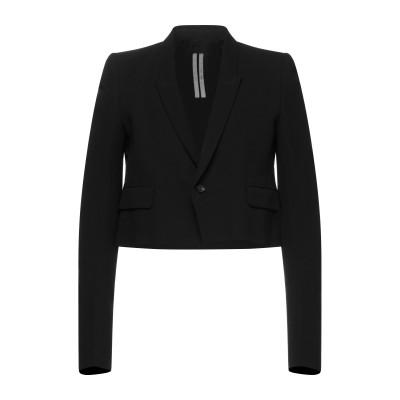 リック オウエンス RICK OWENS テーラードジャケット ブラック 48 バージンウール 53% / キュプラ 47% テーラードジャケット