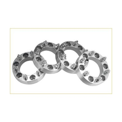 4 Chevy K1500 Wheel Spacers Adapters 1.5 inch thick fits ALL Chevrolet K-1500 Model Trucks 並行輸入品