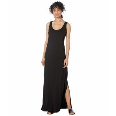 マイケルスターズ レディース ワンピース トップス Cotton Modal Isabelle Sleeveless Neck Maxi Dress Black