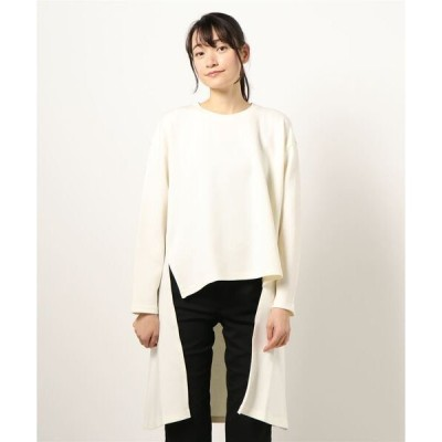 tシャツ Tシャツ MIDUMISOLID for Ladies ロングバックビッグTシャツ