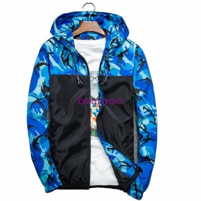 ジャケット メンズ 春秋 迷彩 メンズジャケット 大きいサイズ 切り替え カジュアル アウター トレーナー