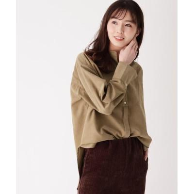 ZAMPA(ザンパ) ボザム切り替えバンドカラーシャツ