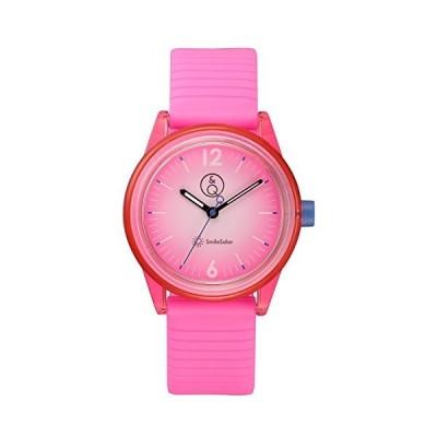[シチズン Q&Q] 腕時計 アナログ スマイルソーラー ミュージックフェス 防水 ウレタンベルト RP18-015 ピンク