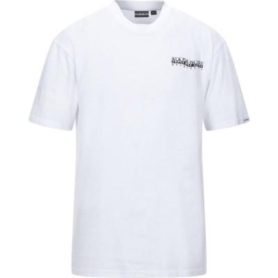ナパピリ NAPAPIJRI メンズ Tシャツ トップス T-Shirt White