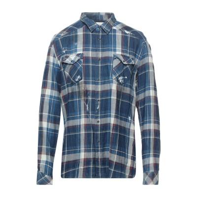 THE.NIM シャツ ブルー XXL コットン 100% シャツ