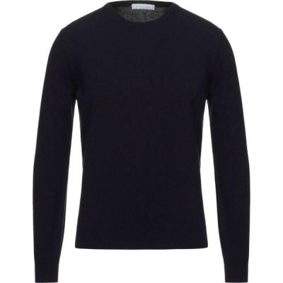 スパダロンガ SPADALONGA メンズ ニット・セーター トップス Sweater Dark blue