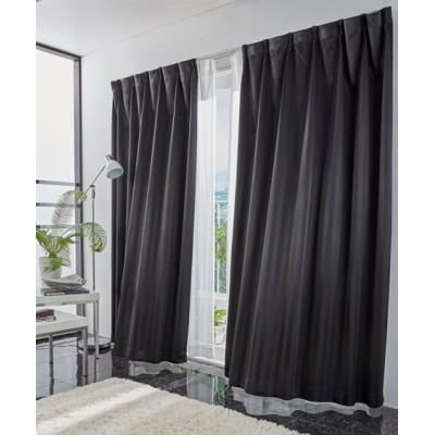【送料無料!】光沢のあるストライプ柄。1級遮光カーテン ドレープカーテン(遮光あり・なし) Curtains, blackout curtains, thermal curtains, Drape(ニッセン、nissen)