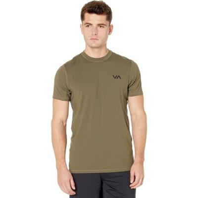 ルーカ RVCA メンズ トップス VA Sport Vent Short Sleeve Top Olive