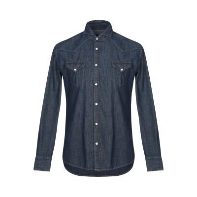 ブライアン デールズ BRIAN DALES デニムシャツ ブルー 39 コットン 100% デニムシャツ