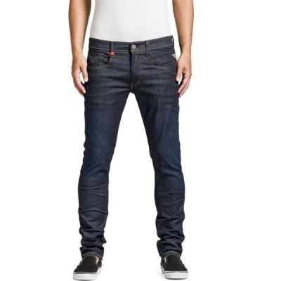 リプレイ Replay メンズ ジーンズ・デニム スキニー・スリム ボトムス・パンツ ANBASS Slim Fit jeans DARK BLUE