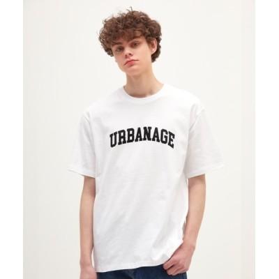 KONVINI / 【URBANAGE 】アーチロゴティーシャツ / Arch Logo T-Shirt (2 Colors) WOMEN トップス > Tシャツ/カットソー