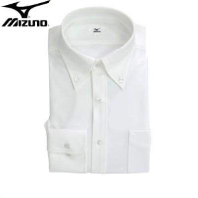 カッターシャツ(長袖ボタンダウン)【MIZUNO】ミズノ長袖 ワイシャツ カッターシャツ18SS(C2JC8X1001)