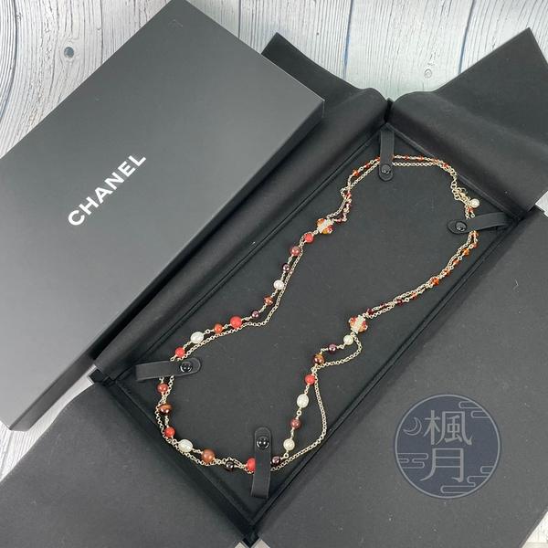 BRAND楓月 CHANEL 香奈兒 紅珠水鑽造型 項鍊 服飾配件 配飾 飾品 流行