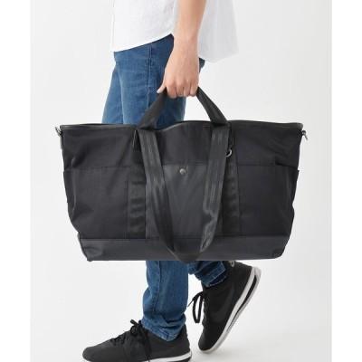 トートバッグ バッグ 【AVANT】ダブルハンドルナイロンBIGトートボストンバッグ