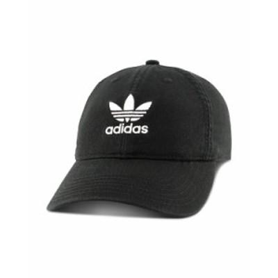 アディダス レディース 帽子 アクセサリー Logo Baseball Cap Black