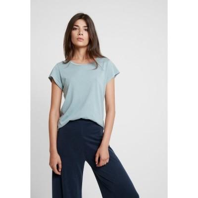 サムスサムス Tシャツ レディース トップス LISS - Basic T-shirt - chiniois green