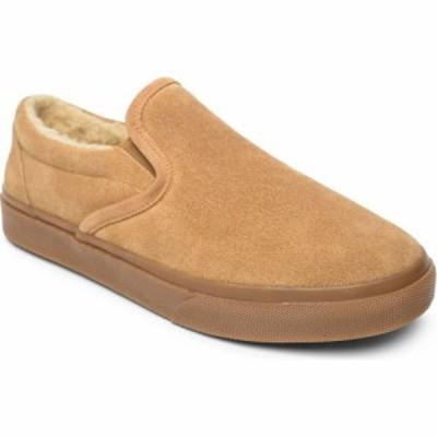 ミネトンカ MINNETONKA メンズ スリッパ シューズ・靴 Alden Slipper Cinnamon