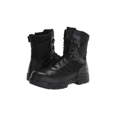 "Bates Footwear ベイツ メンズ 男性用 シューズ 靴 ブーツ ワークブーツ 8"" Tactical Sport Dryguard Side Zip Composite Toe - Black"