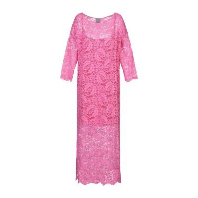 CAPSULE by ARABETH ロングワンピース&ドレス フューシャ XS ナイロン 62% / コットン 38% ロングワンピース&ドレス